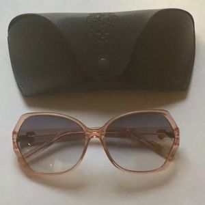 Vince Camuto Oversized Oval Sunglasses New w/ Case